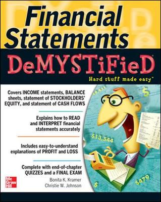 FINANCIAL STATEMENTS DEMYSTIFIED: A SELF