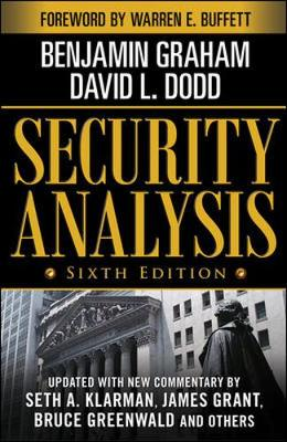 SECURITY ANALYSIS 6E, FOREWORDED WARREN