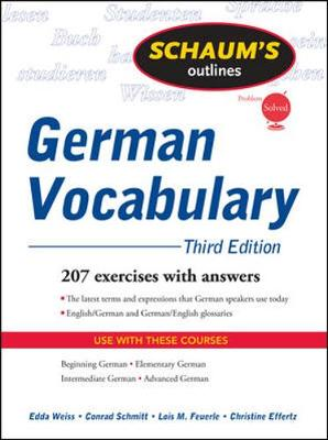 SOS GERMAN VOCABULARY 3E