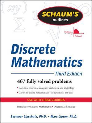 Schaums Outline Of Discrete Mathematics 3/E Revised