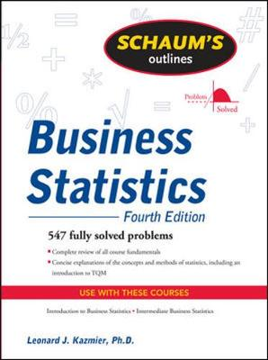 SOS BUSINESS STATISTICS 4E