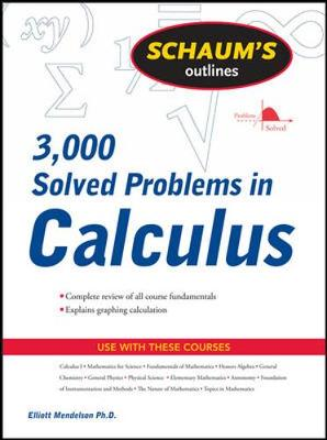SCHAUM'S 3000 SOLVED PROBLEMS CALCULUS