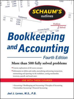 SOS BOOKKEEPING AND ACCOUNTING 4E