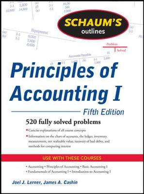 Schaums Outline Of Principles Of Accounting I 5/E