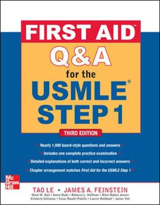 FIRST AID Q and A FOR THE USMLE STEP 1 3/E