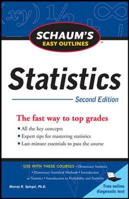 Schaum's Easy Outline of Statistics