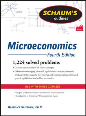 Schaums Outline Of Microeconomics 4/E Revised