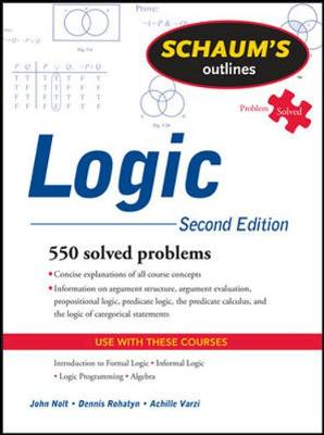 Schaums Outline Of Logic 2/E Revised