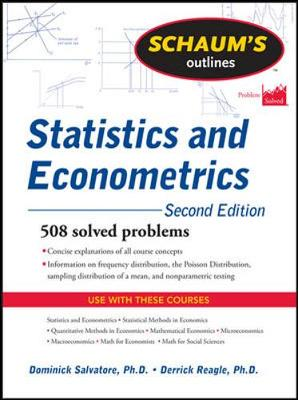 Schaums Outline Of Statistics And Econometrics 2/E Revised
