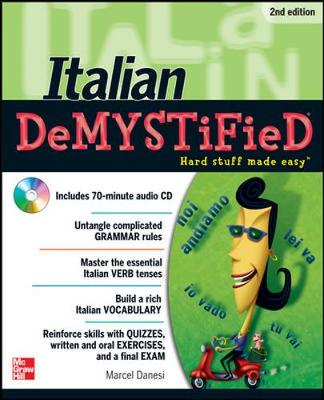 Italian Demystified 2/E (Set 2)