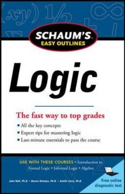 Schaum's Easy Outline of Logic