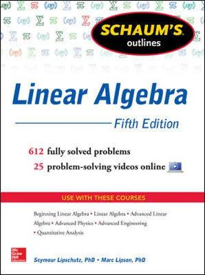 Schaums Outline Of Linear Algebra 5/E
