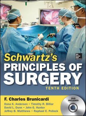 Schwartzs Principles Of Surgery 10/E (Set)