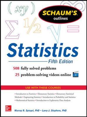 Schaum's Outline of Statistics, 5/E