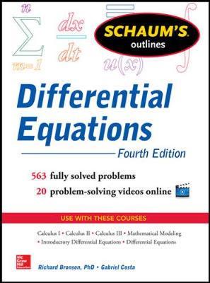 SOS DIFFERENTIAL EQUATIONS 4E