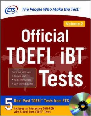 OFFICIAL TOEFL IBT TESTS VOL 2 SET