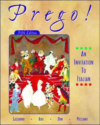 Prego!: An Invitation to Italian