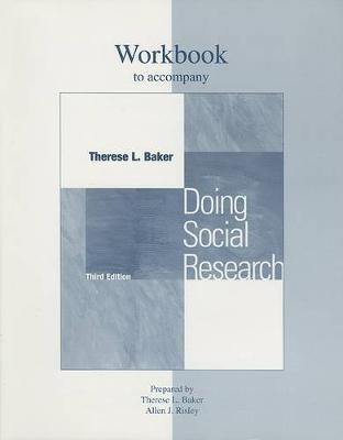 Doing Social Research: Student Workbook