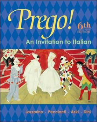 Prego! An Invitation to Italian: Student Prepack