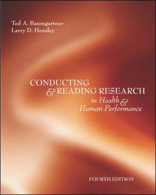 Conducting and Reading Research in Health and Human Performance