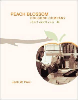 Peach Blossom Cologne Company with CD