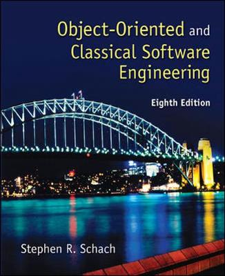 Objected-Oriented And Classical Software Engineering