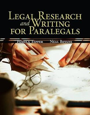 Legal Research & Writing for Paralegals