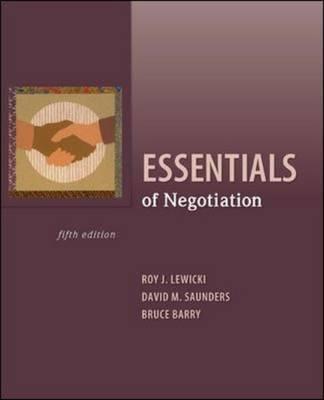 Essentials of Negotiation (US Edition)