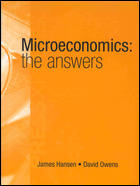 Microeconomics the Answers: The Answers