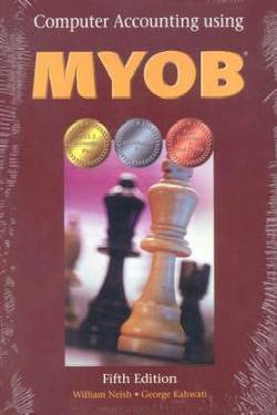 Computer Account Myob V 11.1