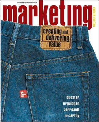 Marketing: Creating and Delivering Value: AND Online Card