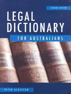 Legal Dictionary for Australians
