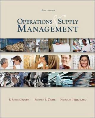 Operations and Supply Management