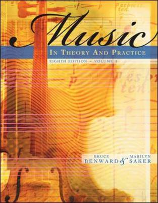 Music in Theory and Practice: v. 1