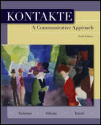 Kontakte Student Edition with Arbeitsbuch (Workbook/Laboratory Manual)