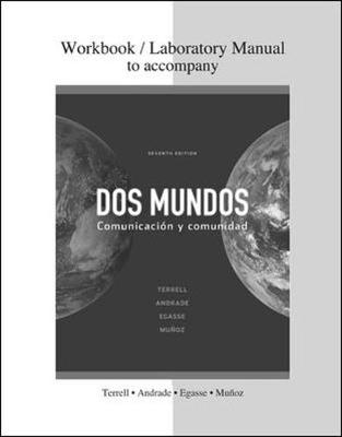 Combined Workbook/Lab Manual to accompany Dos mundos