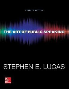 Annotated Instructor's Edition to accompany The Art of Public Speaking