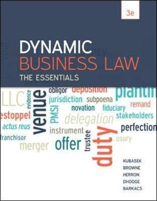 Business law in australia 10 textbooks zookal dynamic business law the essentials fandeluxe Image collections