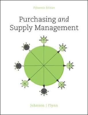 Purchasing and Supply Management 15th Edition