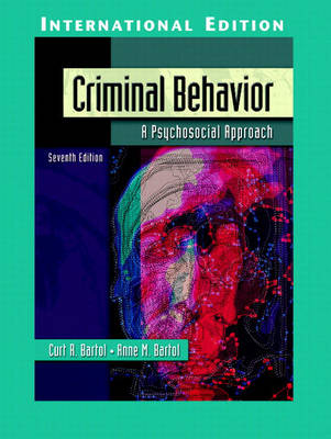 Criminal Behavior: A Psychosocial Approach