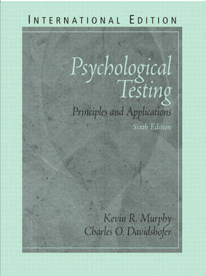 Psychological Testing: Principles and Applications: International Edition