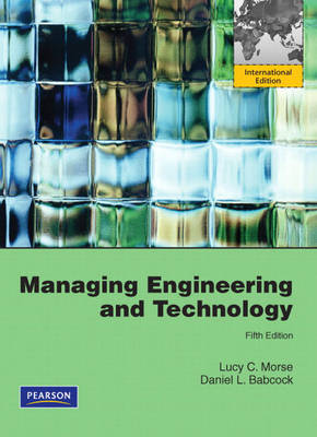 Managing Engineering and Technology: International Version