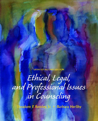 Ethical, Legal, and Professional Issues in Counselling