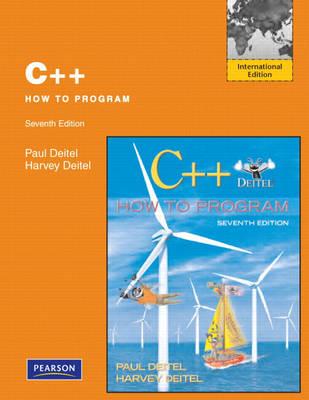 C++ How to Program: International Version
