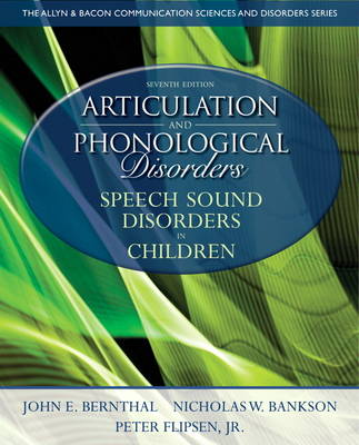 Articulation and Phonological Disorders: Speech Sound Disorders in Children