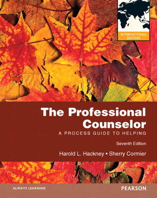 The Professional Counselor: A Process Guide to Helping