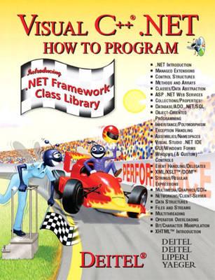Visual C++ Net: How to Program