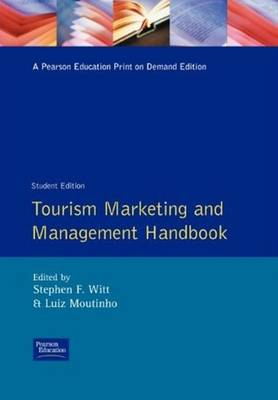 Tourism Marketing and Management Handbook