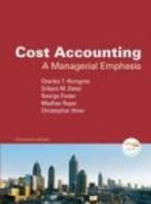 Cost Accounting and MyAcctgLab Access Code Package