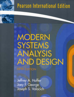 Modern Systems Analysis and Design